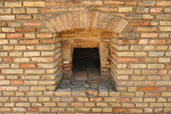Old bread oven, archaeological site of the Roman city of Italica, Andalusia, Spain Royalty Free Stock Photography
