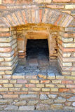 Old bread oven, archaeological site of the Roman city of Italica, Andalusia, Spain Royalty Free Stock Image