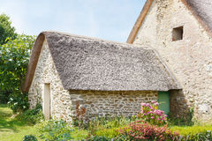 Old breton country house Royalty Free Stock Photo