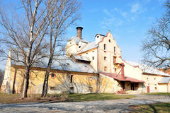 Old brewery. The Czech Republic Royalty Free Stock Photography