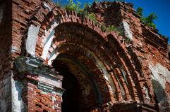 Old brick arch. Stock Images