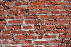 Old Brick Background. Used for text and wallpaper Stock Photos