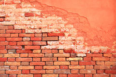 OLD BRICK BACKGROUND Stock Images