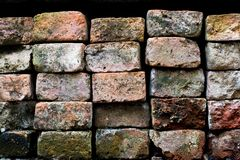Old and dirty brick Royalty Free Stock Photography