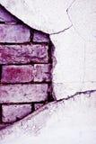 Old brick broken  wall Royalty Free Stock Image