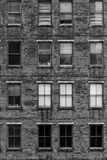 Old Brick Building. A little like Physical Graffiti royalty free stock image