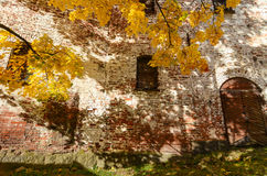 Autumn scenery in Vyborg, Russia Royalty Free Stock Photos