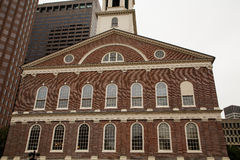 Old Brick Building in Boston Stock Photography