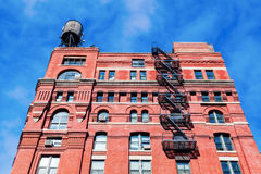 Old brick building in Manhattan, New York City Royalty Free Stock Photo