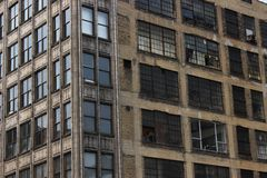 Old Brick Building. In Minneapolis, MN Royalty Free Stock Image