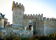 Old brick built castle Royalty Free Stock Images