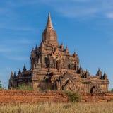 Old Brick Burmese Temple. Myanmar royalty free stock image
