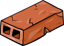 Old brick cartoon clip art Royalty Free Stock Photos