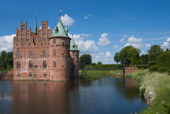 Old brick castle. Stock Images