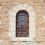 Old brick castle's wall fragment Royalty Free Stock Photography