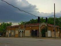 Corner Market on a desolate urban crossroad Royalty Free Stock Photo
