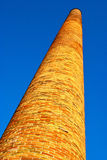 An old brick chimney Royalty Free Stock Images