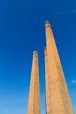 Old brick chimney flue. Stock Photos