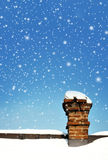 Old Brick Chimney Stock Image