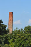 Old brick chimney Stock Photos