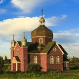 Old Brick Church Stock Images