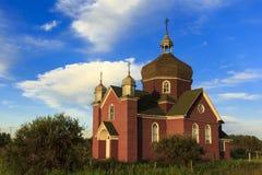 Old Brick Church Stock Photography