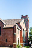 Old Brick Church in Charlottetown Stock Photography