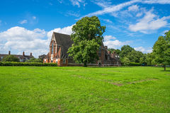 Old brick church Royalty Free Stock Images