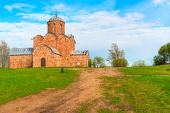 Old brick church Royalty Free Stock Photo