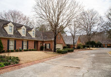 Old Brick Clluster Home Community Royalty Free Stock Image