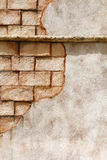 Old brick or concrete wall Stock Photos