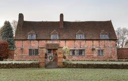 Old brick cottage, Warwickshire Royalty Free Stock Image