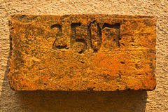 An Old Brick Stock Photo