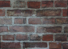 Old brick facade background Royalty Free Stock Photography