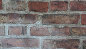 Old brick facade Royalty Free Stock Photo