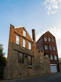 Old Brick Factory in Bristol Stock Image