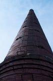 Old brick factory chimney Stock Photo