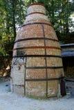 Old brick firing kiln, potter's building,Old Sturbridge Village,September,2014 Royalty Free Stock Photo