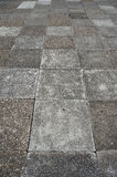 Old brick floor Royalty Free Stock Images