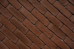Old Brick footpath background texture Royalty Free Stock Photo