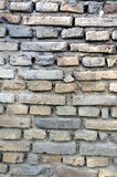 Old brick fortress wall Royalty Free Stock Photography