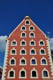 Old brick granary Stock Photo