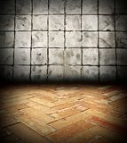 Old brick Gray backgrounds Royalty Free Stock Photo