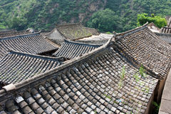 The old brick house of the ancient village. In mountains, Beijing, China Stock Photography