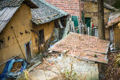 Old brick house in the mountain Royalty Free Stock Image