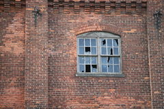 Old Brick Industrial Building Royalty Free Stock Image