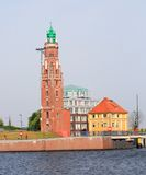 Old Brick Lighthouse Stock Image