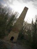 Old Brick Mill Chimney Stock Photos