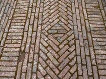 Old brick path Stock Photos