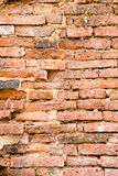 Old brick. Pattern of old brick in the temple Stock Photography